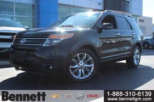 2013 Ford Explorer Limited -4x4 with Leather Seats, Nav + Roof
