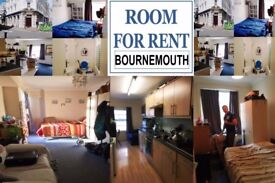 Room available in heart of Bournemouth Town Center - £110 per week