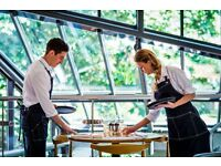 WAITING STAFF / WAITERS FOR LUSSMANNS ~ RESTAURANTS IN HITCHIN, HERTFORD, ST ALBANS & HARPENDEN