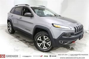 2016 Jeep Cherokee Trailhawk*Cuir,toit ouvrant,Navigation*