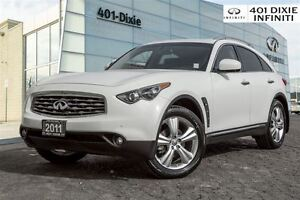 2011 Infiniti FX35 Navigation! Deluxe Touring! Beautiful color!
