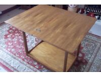 Tea trolley on castors Folding table Card table Made in Scotland by Legate