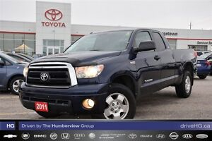 2011 Toyota Tundra TRD DoubleCab one owner low kilomoeters