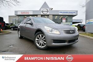 2007 Infiniti G35X X Loaded With Navigation,Heated Leather seats