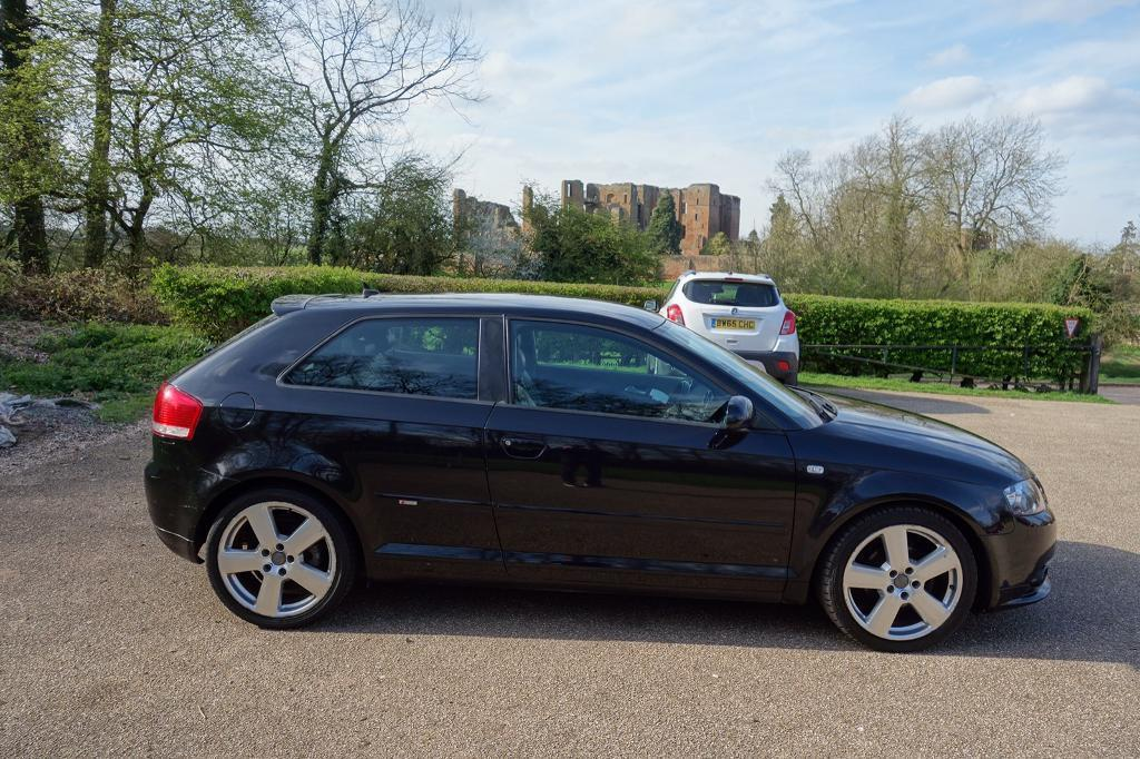 audi a3 s line 2006 2 0 tdi in leamington spa. Black Bedroom Furniture Sets. Home Design Ideas