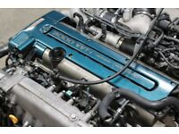 JDM TOYOTA ARISTO 2JZ-GTE 3.0L 6-CYLINDER, DOHC, 24-VALVE, TWIN TURBO INLINE-6 VVTI ENGINE