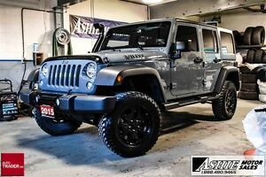 2015 Jeep WRANGLER UNLIMITED Willy's Wheeler AUTO! A/C!