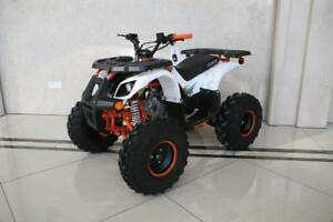 "FREE SHIPPING NEW Venom Grizzly 125cc Gas Quad ATV 4 Stroke - Colored Frame + Big 8"" Tires + Reverse + 6-Months Warranty"