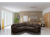 BRAND NEW AMY SOFA COLLECTION***UNIVERSAL CORNERS***3+2 SEAT SETS**LEATHER & FABRIC