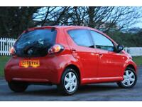 TOYOTA AYGO 1.0 PLUS VVT-I MM 5d AUTO 67 BHP RAC WARRANTY + BR (red) 2009