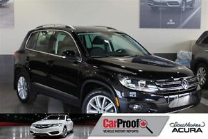 2015 Volkswagen Tiguan 2.0 tsi Leather, Panoramic sunroof, rearv