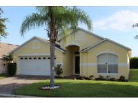 Florida villa,15 mins to Disney. 4 bedroom,3 bathroom,Pool/Spa(Can be heated), Games room. Wi-Fi