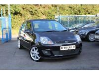 FORD FIESTA 1.25 Zetec Blue *1 LADY OWNER FROM NEW* (panther black) 2008