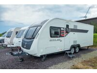 Sterling Eccles Wayfarer - 2014 - 4 Berth, Island Bed, Rear Bathroom, Tag Axle, One Owner
