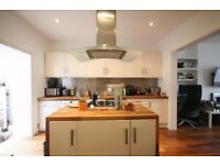 HIGH STANDARD 1 BEDROOM GARDEN FLAT, WITH OPEN PLAN KITCHEN/LIVINGROOM AND BRIGHT CONSERVATORY
