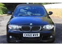 BMW 1 SERIES 2.0 120D M SPORT 2d 175 BHP RAC WARRANTY + BREAKDO (black) 2010