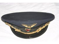 Genuine Vintage Soviet Transport Workers' Hat