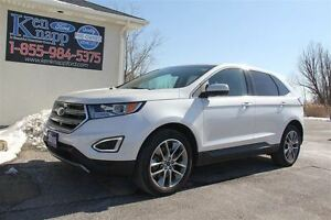 2015 Ford Edge Titanium AWD 2.0L Eco