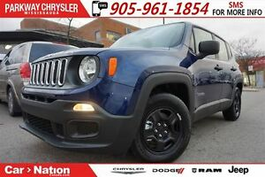 2017 Jeep Renegade Sport| A/C| BRAND NEW| KEYLESS ENTRY AND MORE