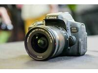 Canon eos 700d with 18-55mm mint condition