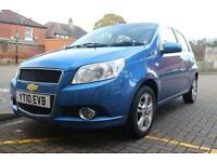 2010 Chevrolet Aveo LT 1.4 5door automatic