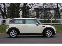 MINI HATCH COOPER 1.6 COOPER 3d 118 BHP RAC WARRANTY + BREAKDOWN COV (white) 2007