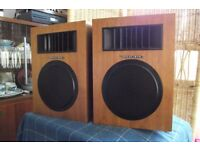 Realistic Tandy bookshelf speakers 8ohm
