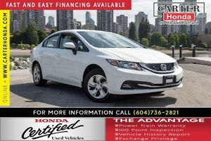 2013 Honda Civic LX + Summer Clearance! On Now!
