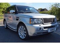 2007 57 RANGE ROVER SPORT 3.6 TDV8 HSE FULL SERVICE HISTORY FACELIFT UPGRADES PX WELCOME