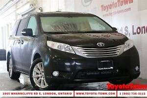 2014 Toyota Sienna LOADED LIMITED ALL WHEEL DRIVE NAV & DVD PLAY