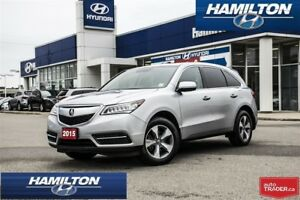 2015 Acura MDX | AWD | BACK UP CAM | LEATHER | ROOF| 7 PASSENGER