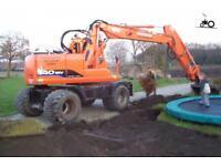 Looking For Daewoo Wheeled Excavators 130WV 140WV 160WV