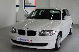 BMW 1 SERIES 116d ES 5dr (white) 2011