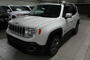 2015 Jeep Renegade LIMITED 4X4 *CUIR/NAV*