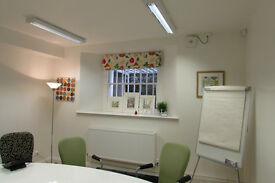 Office room to let for £395 per month inc VAT, rates, services and a car parking space