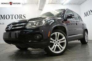 2012 Volkswagen Tiguan 2.0T  4Motion LEATHER PANO SPORTS