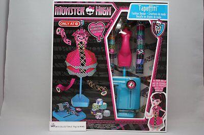 MONSTER HIGH TAPEFFITI FASHION DESIGN CRAFT KIT PLAYSET DESIGN 15 FASHIONS NEW  ](Monster Craft)