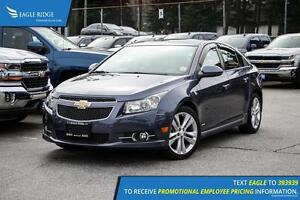 2014 Chevrolet Cruze LTZ Navigation, Sunroof, and Heated Seats