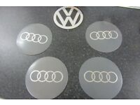 Large Volkswagen and Audi Centre Cap adheasive stickers (decals)