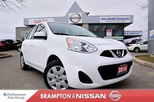 2016 Nissan Micra SV *Bluetooth|Cruise|Power package*