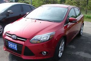 2012 Ford Focus Titanium sharp car loaded with options