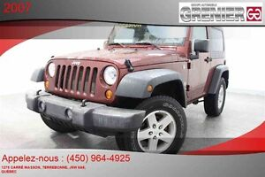 2007 Jeep Wrangler *4X4 + MAGS + 2 TOITS + HITCH*