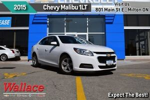 2015 Chevrolet Malibu 1LT/CLEAN CARPROOF/AC/7 TOUCHSCREEN/16 ALU