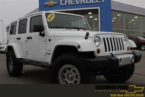 2012 Jeep WRANGLER UNLIMITED Sahara| Cust Lift/Rims/Tires| Paint