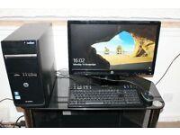 HP.DESKTOP i3 QUAD CORE /4GB RAM/1TB HARDDRIVE /WINDOW10