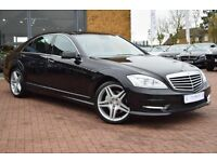 Scott's UK London & Essex Airport Chauffeur Long Trips S Class Mercedes Car