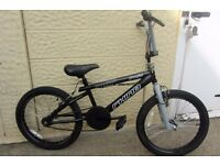 bike bmx Rhino Freefall 20inch wheels excellent condition