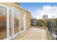 Brand newly refurbished contemporary two bedroomed apartment - private terrace ideally located in N1