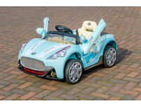 Maserati Electric Ride On 6V Sports Car with Parental Remote - Blue