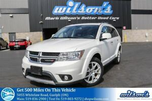 2017 Dodge Journey GT AWD SUV! 7-PASS! LEATHER! HEATED STEERING+